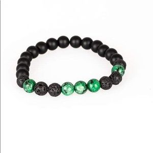 Two lava bracelets for man or woman
